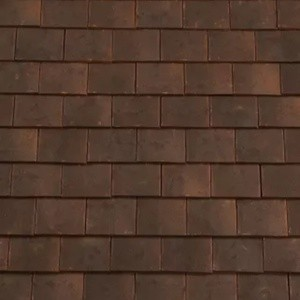 REDLAND ROOFING TILE Rosemary Clay Craftsman, 98 Victorian, Sanded / Granular, Clay