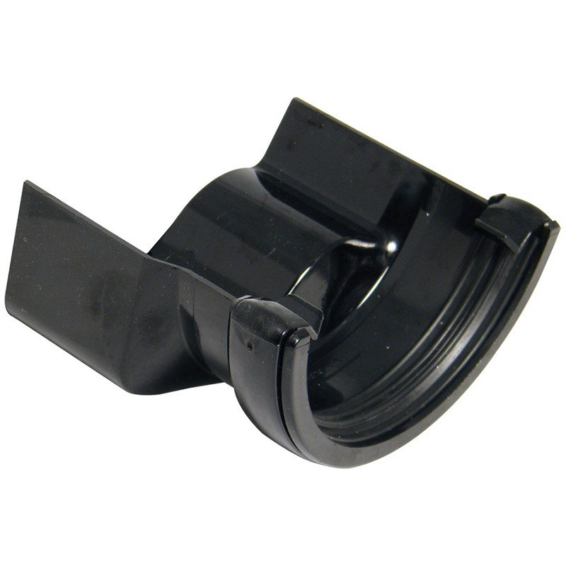 FLOPLAST Guttering 112mm Half Round - Gutter Adaptors
