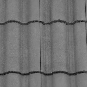 REDLAND ROOFING TILE Regent, 30 Slate Grey, Smooth Finish, Concrete