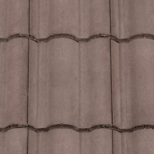 REDLAND ROOFING TILE Regent, 36 Tudor Brown, Smooth Finish, Concrete