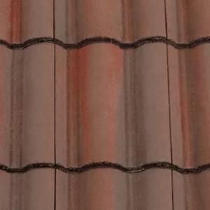 REDLAND ROOFING TILE Regent, 52 Breckland Brown, Smooth Finish, Concrete