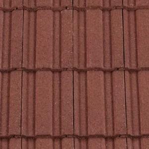 REDLAND ROOFING TILE REDLAND ROOFING TILE 49, 03 Antique Red (Granular), Sanded / Granular, Concrete