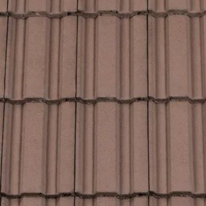 REDLAND ROOFING TILE REDLAND ROOFING TILE 49, 36 Tudor Brown, Smooth Finish, Concrete