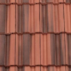 REDLAND ROOFING TILE REDLAND ROOFING TILE 49, 39 Farmhouse Red, Smooth Finish, Concrete