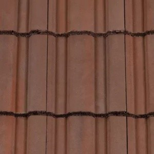 REDLAND ROOFING TILE Renown, 52 Breckland Brown, Smooth Finish, Concrete