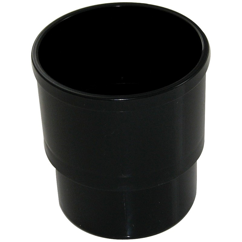 FLOPLAST Guttering 80mm Round - Pipe Sockets