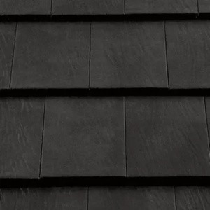 REDLAND Saxon 10 Slate, 63 Black (Coated), Smooth Finish, Concrete