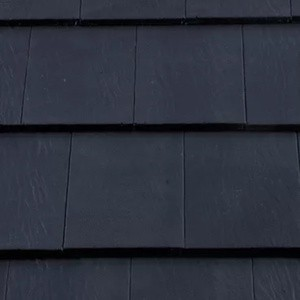 REDLAND Saxon 10 Slate, 64 Blue (Coated), Smooth Finish, Concrete