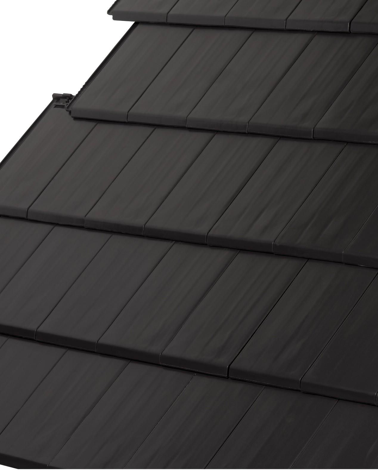 LAGAN SHETLAND CLAY Roof TILE BLACK  LAGSCTBK