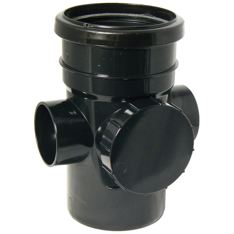 FLOPLAST Guttering 110mm Round - Access Pipes