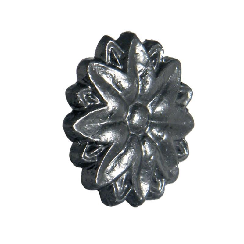 FLOPLAST Guttering Cast Iron Motifs - Tudor Rose