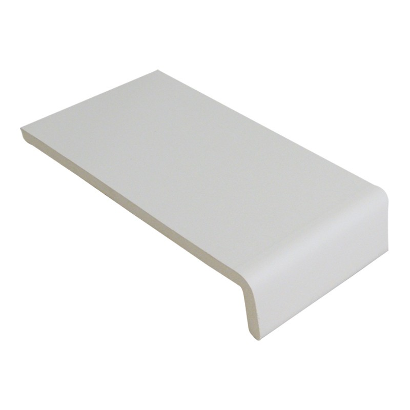 FLOPLAST Traditional 9mm Universal Board Single Leg - 250mm - Various Woodgrain Foil Colours/White