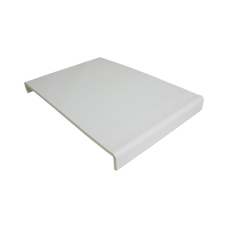 FLOPLAST Traditional 9mm Universal Board Double Leg - 450mm - Various Woodgrain Foil Colours/White
