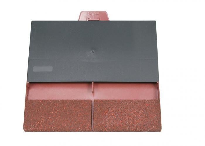 Klober Uni Plain Tile Vent Smooth Brown  KLOUPTVSBR