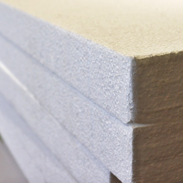 WHITE Polystyrene Insulation -25mm x450 x1200mm