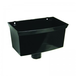 FLOPLAST Guttering 65mm Square - Hoppers