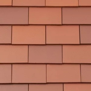 REDLAND ROOFING TILE Rosemary Clay Classic, 80 Red, Smooth Finish, Clay