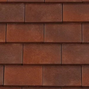 REDLAND ROOFING TILE Rosemary Clay Classic, 83 Heather Brindle (Sanded), Sanded / Granular, Clay