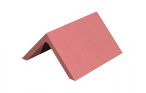 MARLEY TILES Clay 305mm Plain Angle Ridge