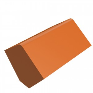 SANDTOFT TILES - Clay Angle Ridge With Block End