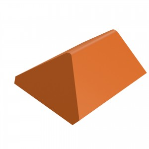 SANDTOFT TILES - Clay Angle Ridge With Hip End