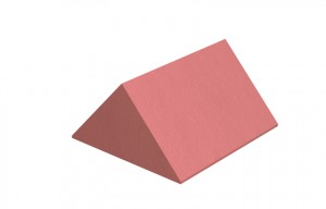 MARLEY TILES Clay 305mm Plain Angle Ridge Stop End