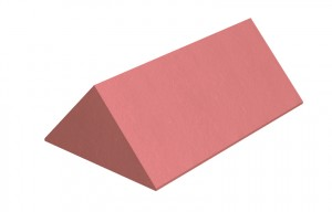 MARLEY TILES Clay 450mm Plain Angle Ridge Stop End