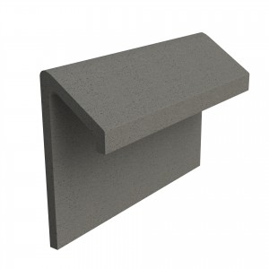 SANDTOFT TILES - Concrete Legged Angle Mono Ridge