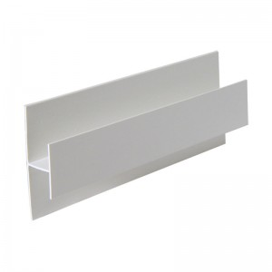 FLOPLAST Centre Joint Trim - Various Woodgrain Foil Colours/White