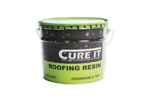 Cure It GRP Roofing Resin 10Kg   CITROOFRES10