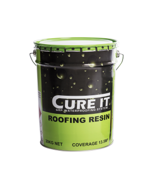 Cure It GRP Roofing Resin 20Kg   CITROOFRES20