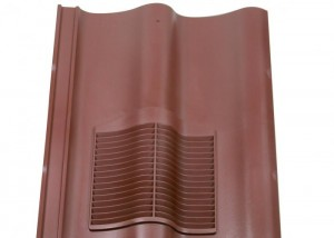 Klober Double Roman Vent Brown   KLODRVBR