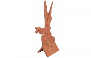 MARLEY TILES Clay 305mm Dragon Finial
