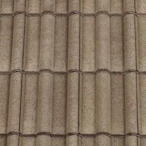 REDLAND ROOFING TILE 50 Double Roman, 12 Cotswold (Granular), Sanded / Granular, Concrete
