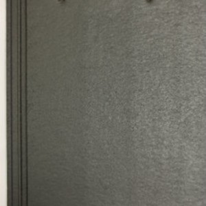LAGAN Elite Ridge Tile 450x250mm -Anthracite