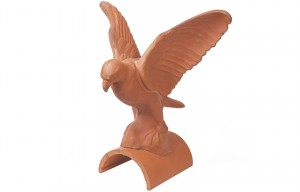 MARLEY TILES Clay 305mm Falcon Finial