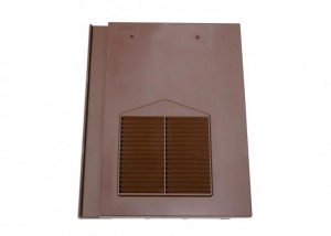 Klober Flat Vent Smooth Brown    KLOFVSBR