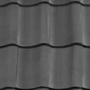 REDLAND ROOFING TILE Fenland Pantile, 30 Slate Grey, Smooth Finish, Concrete