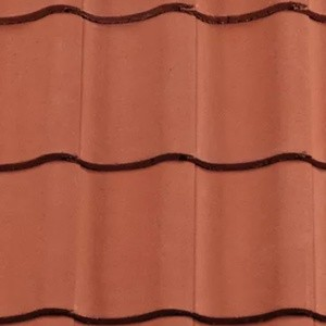 REDLAND ROOFING TILE Fenland Pantile, 34 Terracotta, Smooth Finish, Concrete