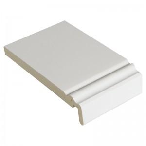 FLOPLAST Ogee Mammoth Board 18mm - Single Edge - 225mm - White