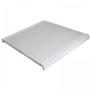 FLOPLAST Ogee Mammoth Board 18mm - Double Edge - 454mm - White