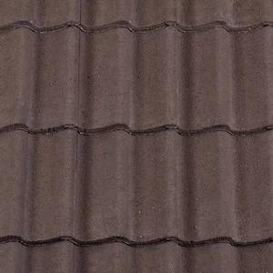 REDLAND ROOFING TILE Grovebury, 02 Brown (Granular), Sanded / Granular, Concrete