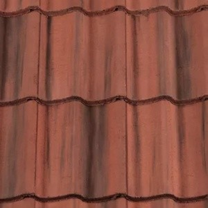 REDLAND ROOFING TILE Grovebury, 39 Farmhouse Red, Smooth Finish, Concrete