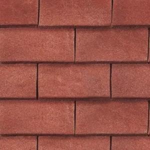 REDLAND ROOFING TILE Heathland, 22 Wealden Red (Sanded), Sanded / Granular, Concrete