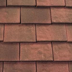 REDLAND ROOFING TILE Heathland Ornamental, 23 Autumn (Sanded), Sanded / Granular, Concrete