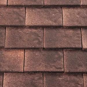 REDLAND ROOFING TILE Heathland Ornamental, 25 Ember (Sanded), Sanded / Granular, Concrete
