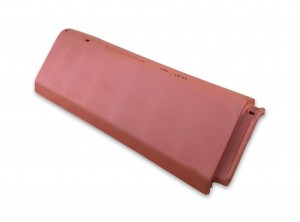 LAGAN HIP RIDGE Tile 450mm Red  LAGHIPR450R