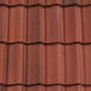 REDLAND ROOFING TILE Landmark Double Pantile, 43 Terracotta Brindle (ColourFusion), Smooth Finish, Concrete