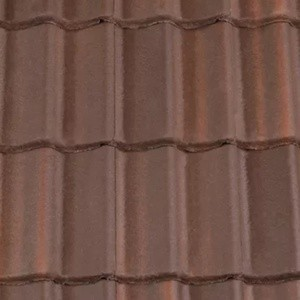 REDLAND ROOFING TILE Landmark Double Pantile, 44 Brown Brindle (ColourFusion), Smooth Finish, Concrete