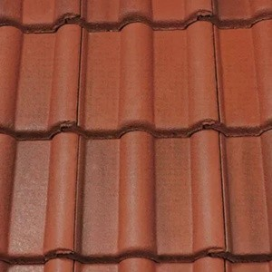 REDLAND ROOFING TILE Landmark Double Roman, 43 Terracotta Brindle (ColourFusion), Smooth Finish, Concrete